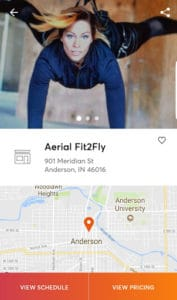 Click View Schedule AerialFit2Fly